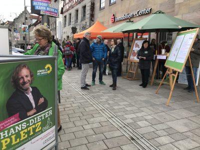Infostand Grüne Altdorf